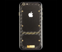 Iphone 6S Carbon Boss Gold