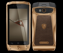 Tonino Lamborghini Antares rose gold brown